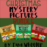 Christmas Mystery Pictures Basic Multiplication and Division Facts Bundle