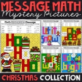 Christmas Mystery Pictures - Multiplication and Division