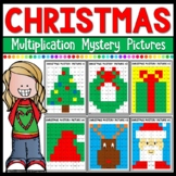 Christmas Math Mystery Pictures Multiplication
