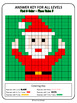 Christmas Mystery Pictures - Place Value (Santa, Reindeer, Christmas Tree)