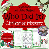 Christmas Mystery- Science Activity Packet