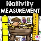 Math Center Christmas NATIVITY BUNDLE: Measurement Centers