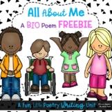 NO PREP Biographical - BIO Poem - Poetry - Grades 1 - 5