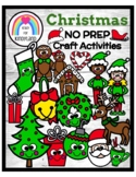 Christmas NO PREP Craft Pack: Morning Work, Centers, Fast