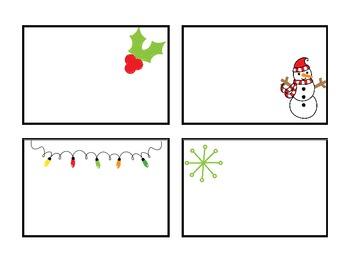 Christmas Name Tags