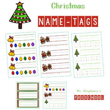 Christmas Name Tags.Christmas Name Tags