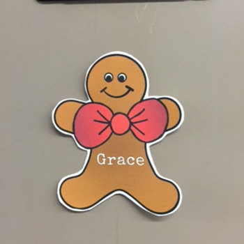 Editable Christmas Name Tags and Locker Labels