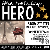 Christmas Writing (Audio Story Starter)