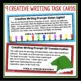 CHRISTMAS WRITING: NARRATIVE WRITING TASK CARDS, GRAPHIC O