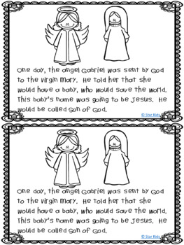 Christmas Nativity for Kindergarten and First Grade