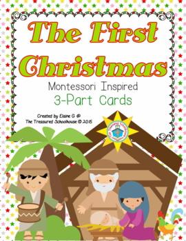 Christmas Nativity 3-Part Cards