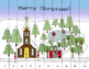 Christmas Nativity Alphabet & Number Puzzles - Includes Skip Counting
