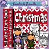 Christmas Nativity Book ~ Bible Theme