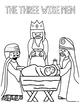 Christmas Nativity COLORING Pages
