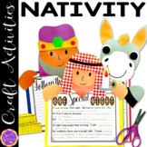 Christmas Nativity Craft Activities (Shepherd; Wise Men; Donkey)