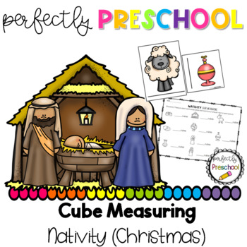 Christmas Nativity Cube Measuring