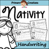 Christmas Nativity PreK Literacy Activity