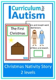 Christmas Nativity Story Reading Book Autism Special Education
