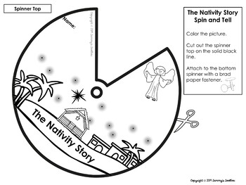 Christmas Nativity Interactive Craft Freebie
