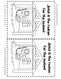 Christmas Nativity Jesus is the reason for the season coloring sheet {religious}