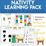 Christmas Nativity Learning Pack