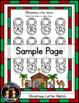 Christmas/Nativity Letter Match File Folder Literacy Center Activity