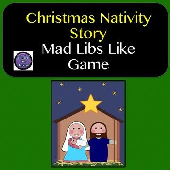 Christmas Nativity Mad Lib