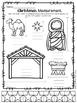 Christmas Nativity Math & LIteracy NO PREP Printables!