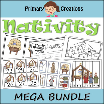 Preschool Christmas Nativity Bundle