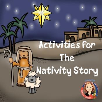 Christmas Nativity Mini Activity Book - Activities to Rete