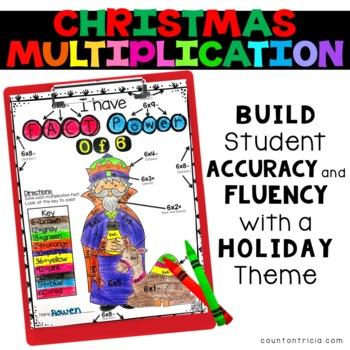 Christmas Nativity Multiplication