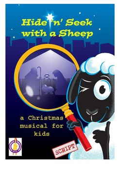 Christmas Nativity Musical Hide 'n' Seek with a Sheep.