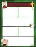 Christmas Nativity Newsletter for Word_Generation 1