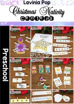 Christmas Nativity Preschool Centers