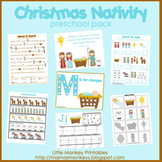 Christmas Nativity Preschool Pack