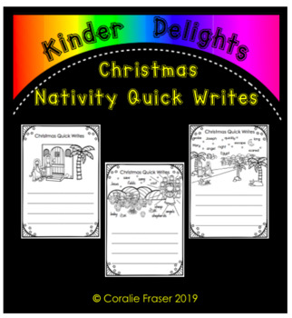 Christmas Nativity Quick Writes