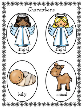 Christmas Nativity  Story Reader's Theater and Decodable Mini-Book