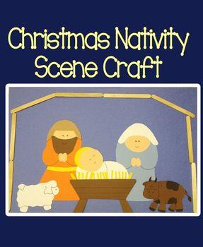 Christmas Nativity Scene Craft