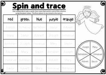 Christmas FREEBIE - Nativity Spelling Activities - FUN and HANDS ON!