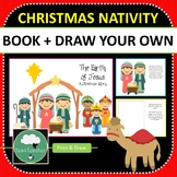 Christmas Nativity Story and Activity Draw Your Own Nativi