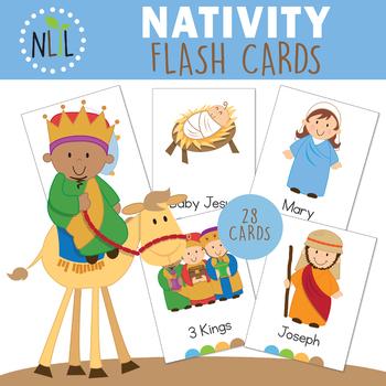 Christmas Nativity Vocabulary Cards