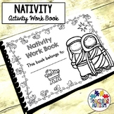 Christmas Nativity Work Book
