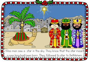 Christmas Nativity book (simplified version)