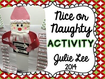 Christmas Naughty or Nice Activity