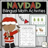 Christmas - Navidad COUNTING (English & Spanish)