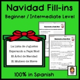Christmas Navidad Fill-in in Spanish