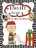 Christmas / Navidad - Narrative Writing Craftivity - Spanish