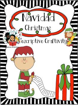 Christmas / Navidad - Descriptive Writing Craftivity - Spanish