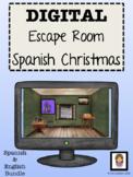 Christmas Navidad in Spain Digital Escape Room Spanish Eng