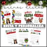 Christmas & New Year Cards in SPANISH